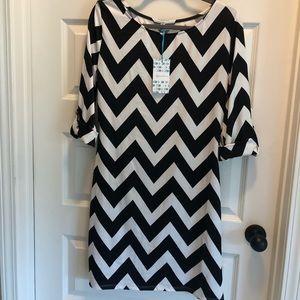 BNWT chevron dress size XL
